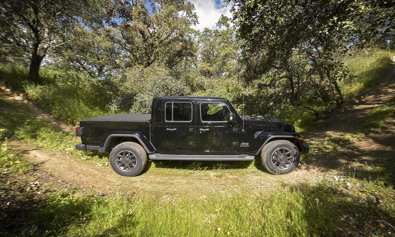 Prueba Jeep Gladiator lateral