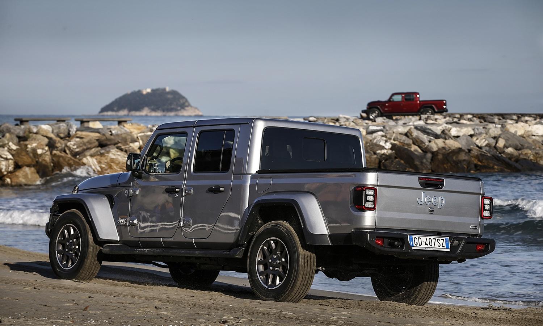 Prueba Jeep Gladiator parte trasera