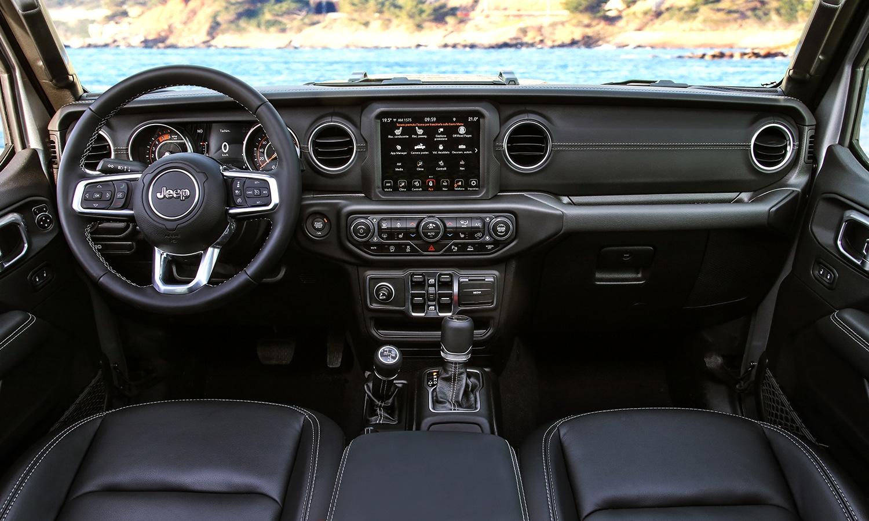 Prueba Jeep Gladiator interior