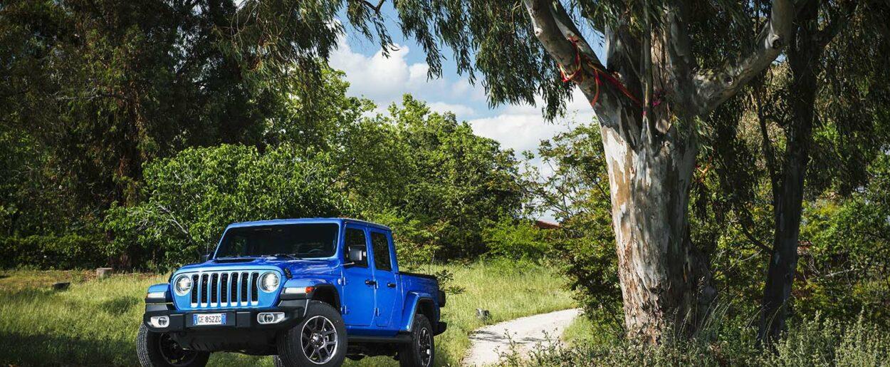 Prueba Jeep Gladiator V6 pick-up