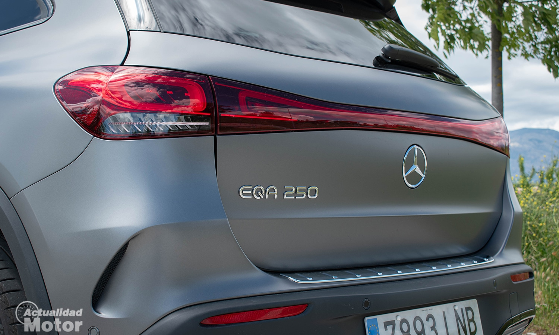 Detalle Mercedes EQA eléctrico