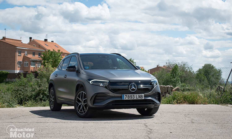 Prueba Mercedes EQA frontal
