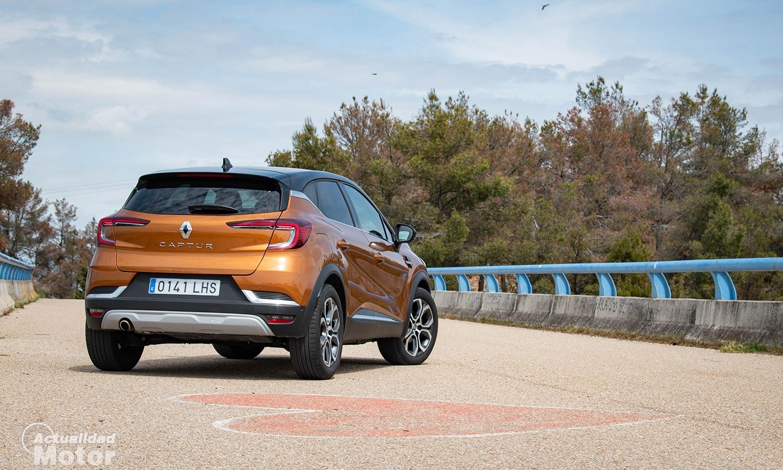 Prueba Renault Captur trasera