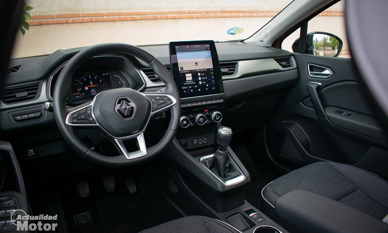 Prueba Renault Captur interior
