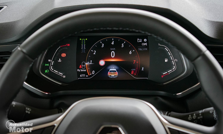 Prueba Renault Captur cuadro instrumentos