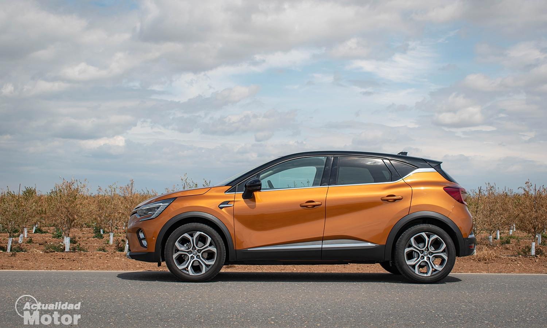 Prueba Renault Captur lateral