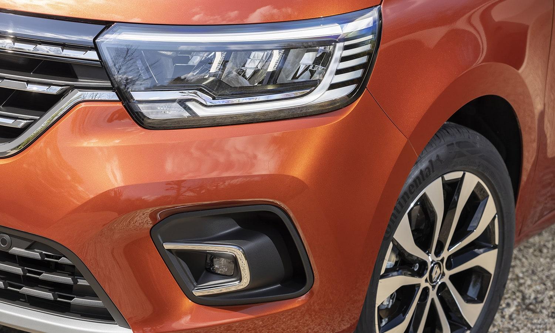 Prueba Renault Kangoo Combi faros LED