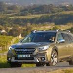 Prueba Subaru Outback dinámica