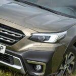 Prueba Subaru Outback faros LED