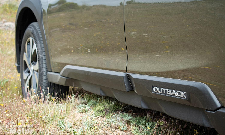 Prueba Subaru Outback taloneras