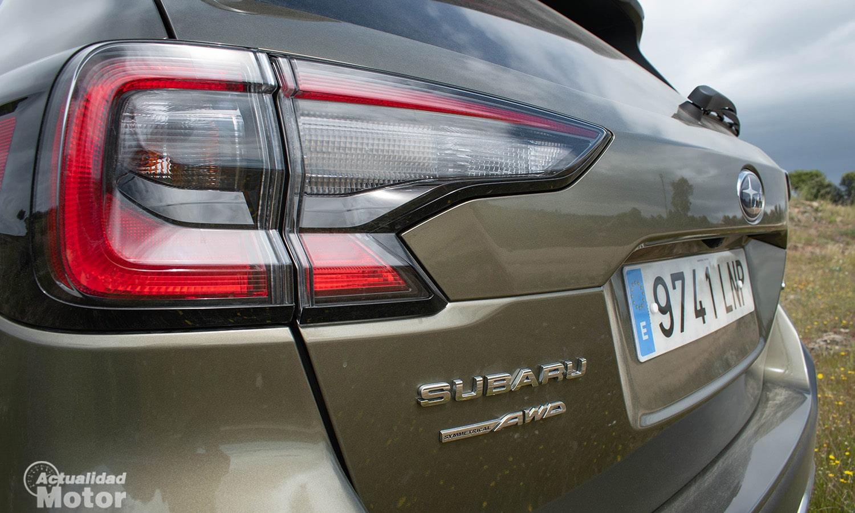 Prueba Subaru Outback pilotos traseros