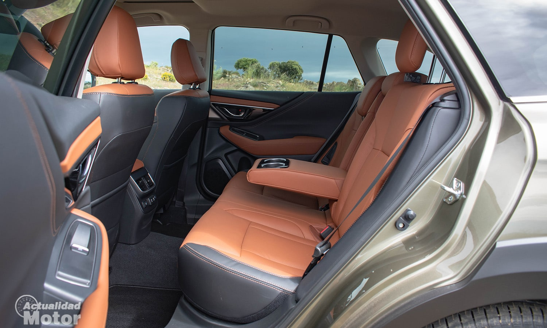 Prueba Subaru Outback plazas traseras