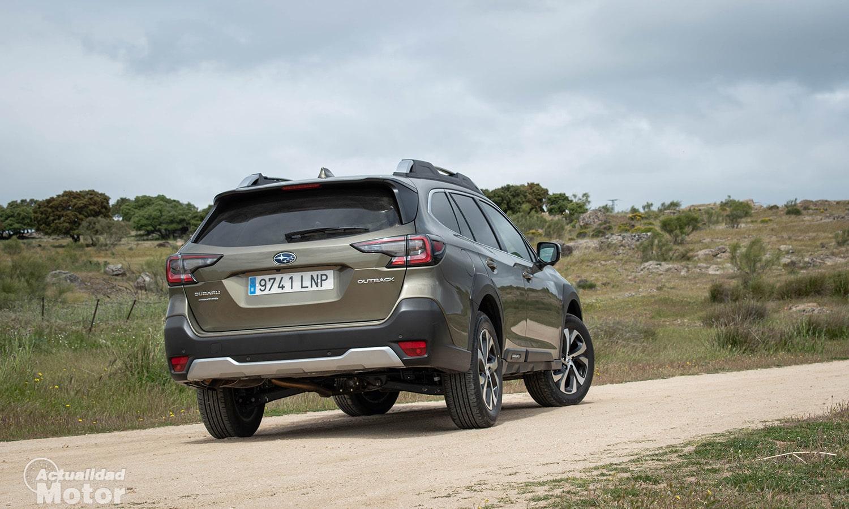 Prueba Subaru Outback trasera