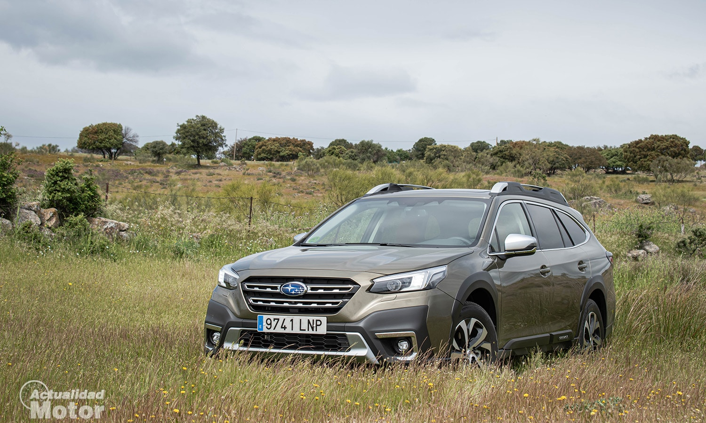 Prueba Subaru Outback 2021 perfil
