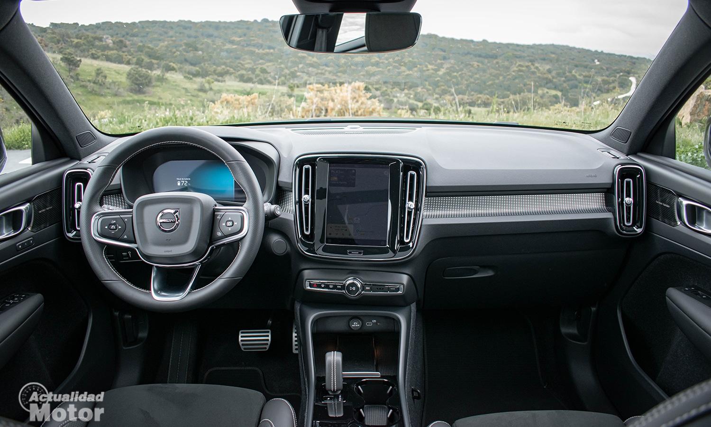 Prueba Volvo XC40 Eléctrico interior