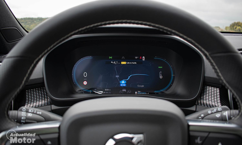 Prueba Volvo XC40 Eléctrico cuadro instrumentos digital