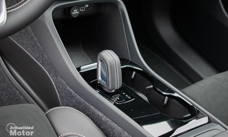 Prueba Volvo XC40 Eléctrico pomo del cambio