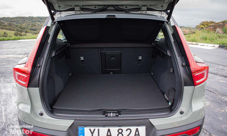 Prueba Volvo XC40 Recharge Eléctrico maletero