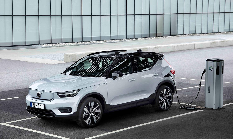 Prueba Volvo XC40 Recharge eléctrico
