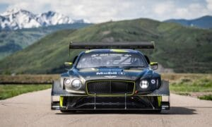 Bentley Continental GT3 Pikes Peak Livery