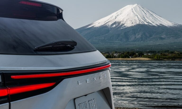 Lexus NX rear teaser