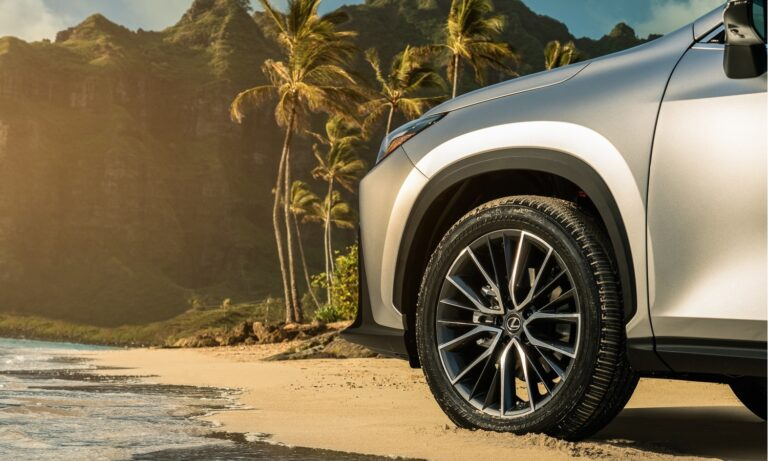 Lexus NX side teaser
