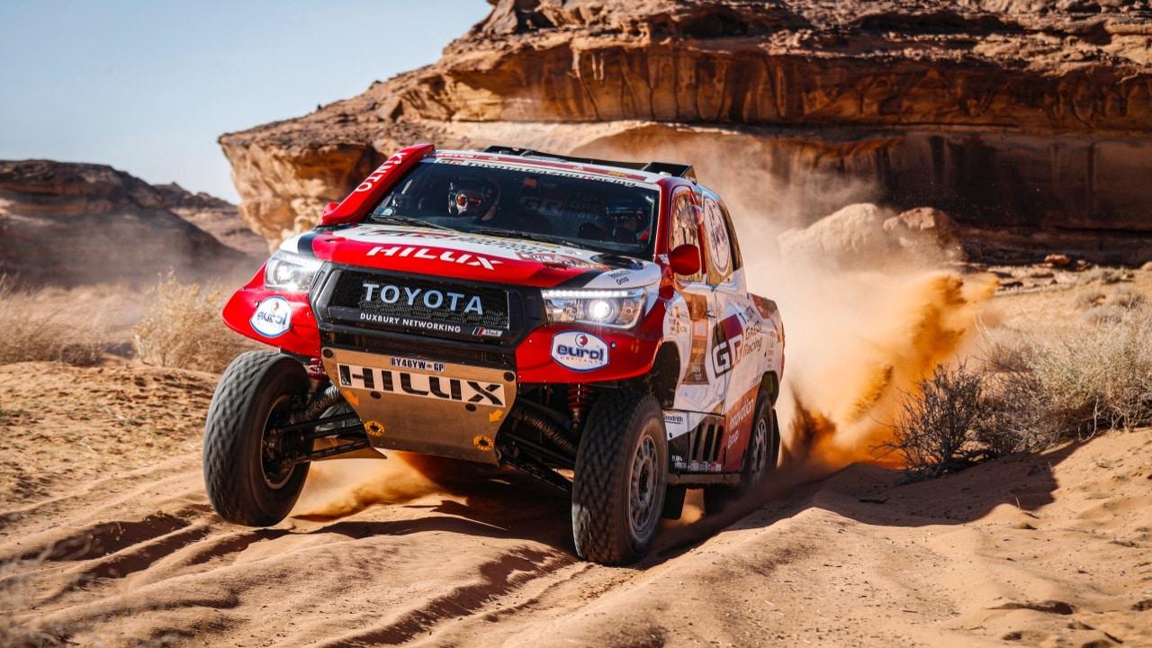 Dakar, Fernando Alonso Toyota