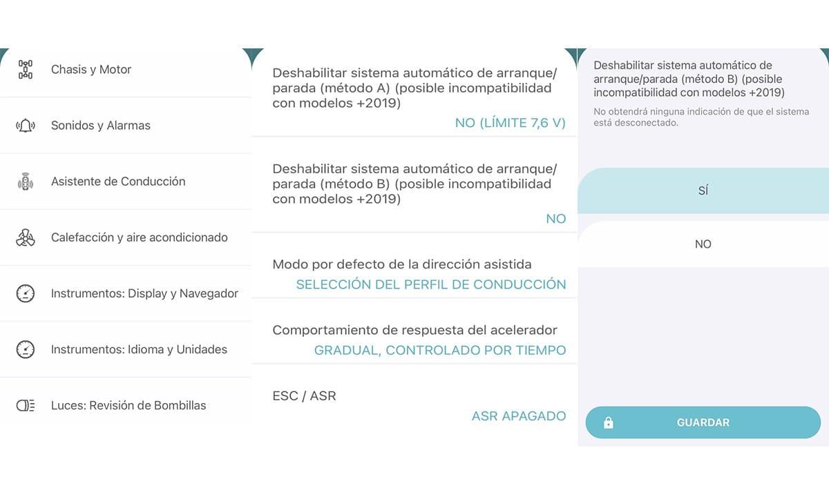 App Carista OBD