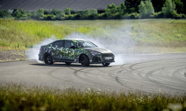 Audi RS 3 Drift