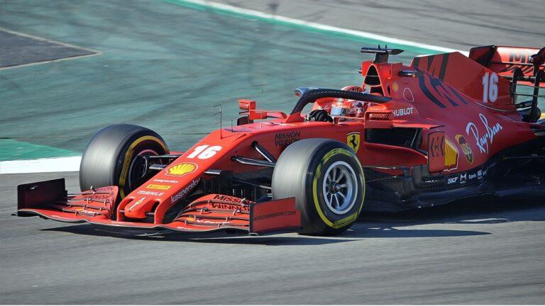Ferrari F1 Leclerc