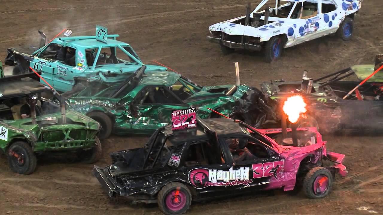 Demolition Derby, eventos de motor
