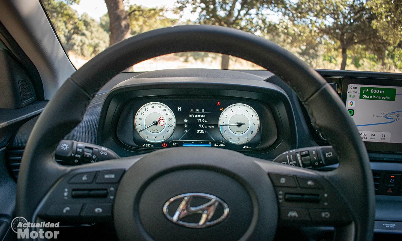 Prueba Hyundai Bayon cuadro instrumentos