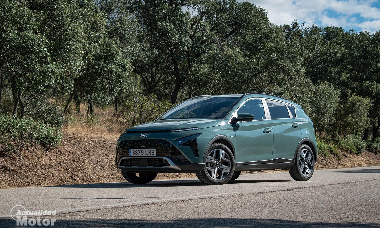 Prueba Hyundai Bayon perfil