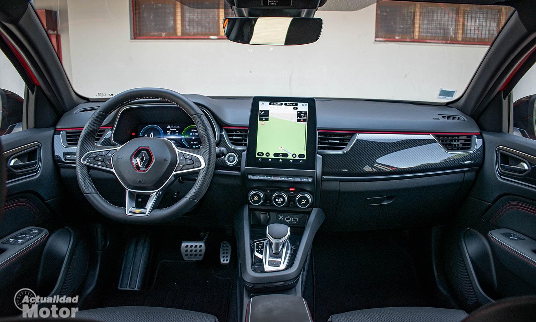 Prueba Renault Arkana interior