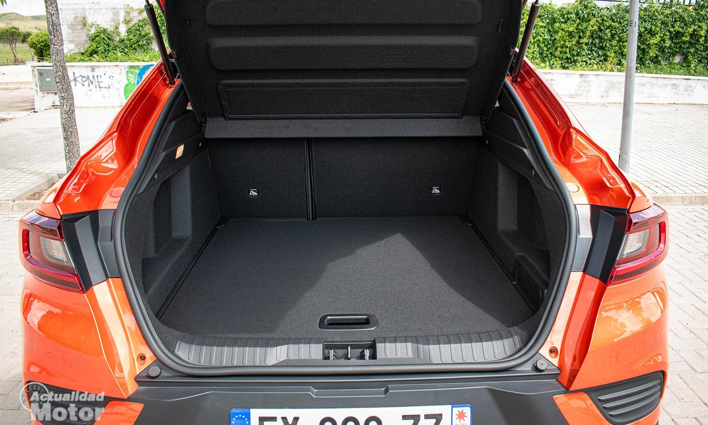 Prueba Renault Arkana maletero