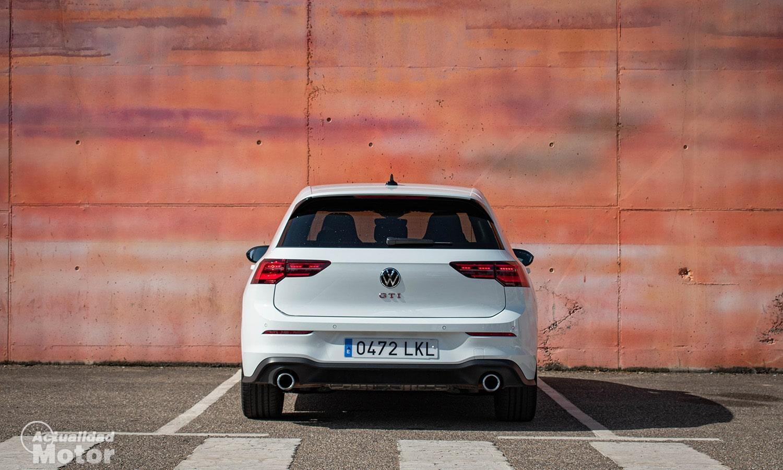 Prueba Volkswagen Golf GTI trasera