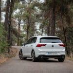 Prueba VW Golf GTI trasera