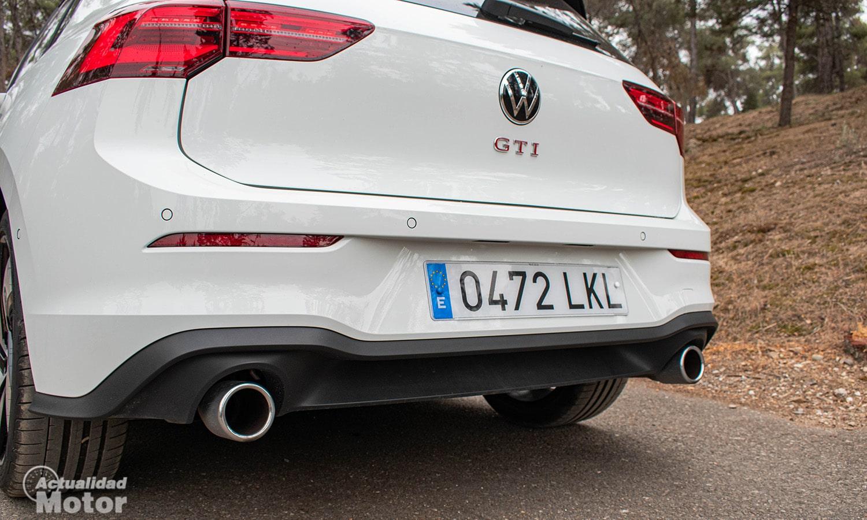 Volkswagen Golf GTI tubos de escape