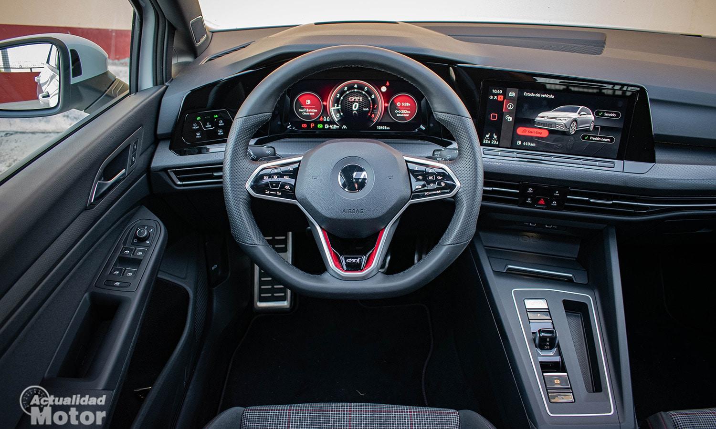 Prueba Volkswagen Golf GTI volante