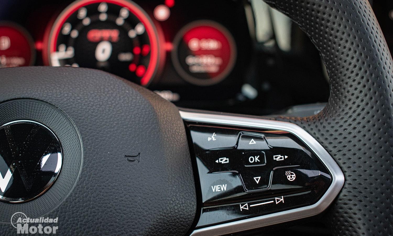 Prueba Volkswagen Golf GTI botones táctiles