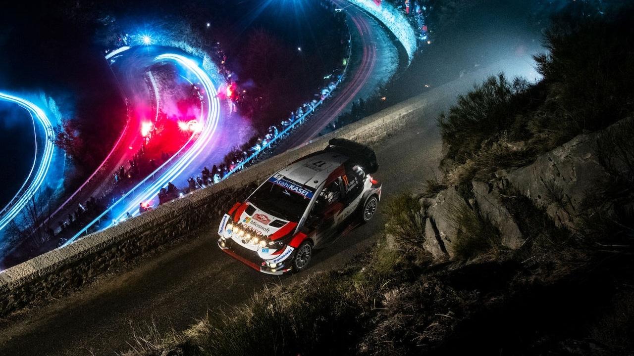 Rally MOntecarlo eventos de motor