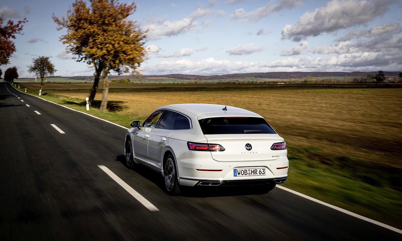 Prueba Volkswagen Arteon Shooting Brake eHybrid trasera