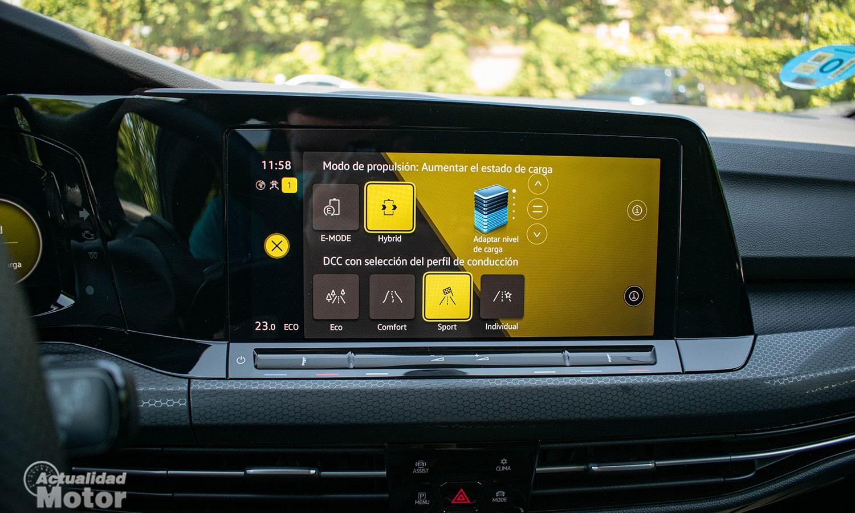 Volkswagen ehybrid modos recarga
