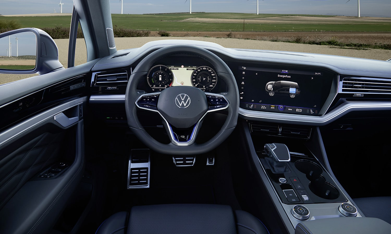 Prueba Volkswagen Touareg R interior