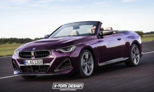 BMW Serie 2 Cabrio render by X-Tomi Design