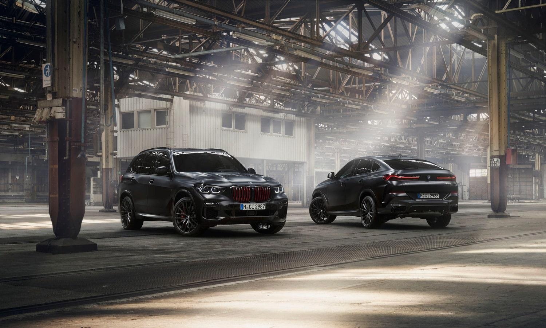 BMW X5 y X6 Black Vermilion