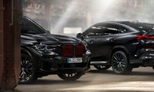 BMW X5 and X6 Black Vermilion edition