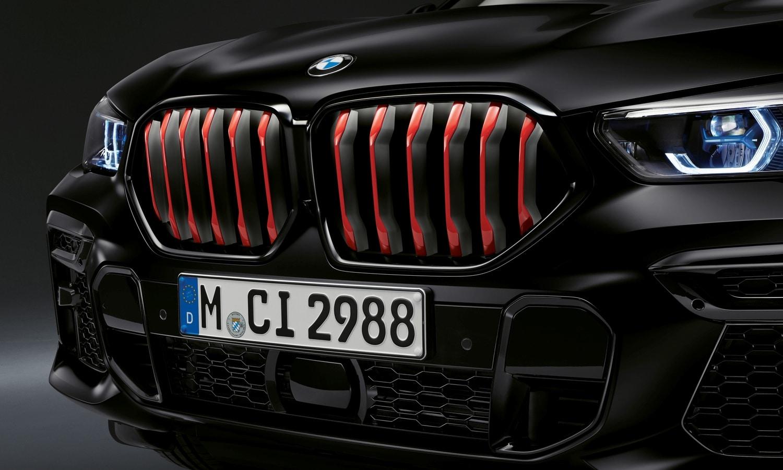 BMW X5 y X6 Black Vermilion parrilla