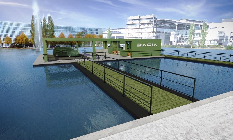 IAA Mobility 2021 show in Munich - Dacia
