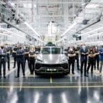 La producción del Lamborghini Urus alcanza un hito